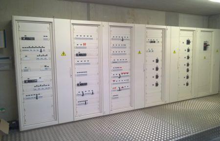 Distribution électrique nouvelle usine Serres