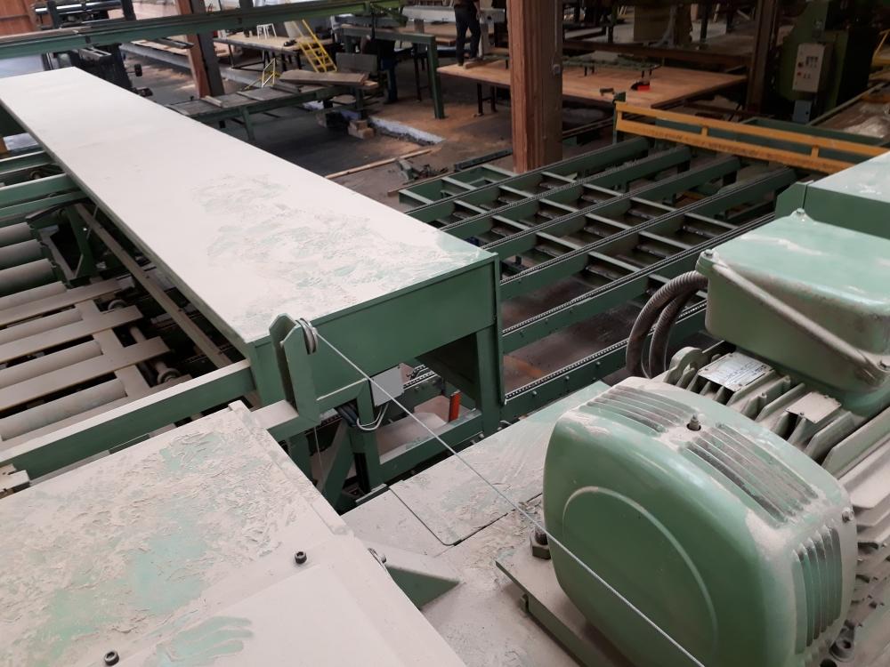 Installation équipements de scierie